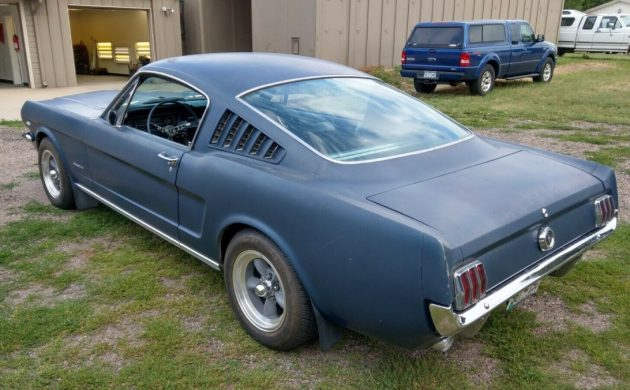 Clean And Solid: 1965 Ford Mustang Fastback