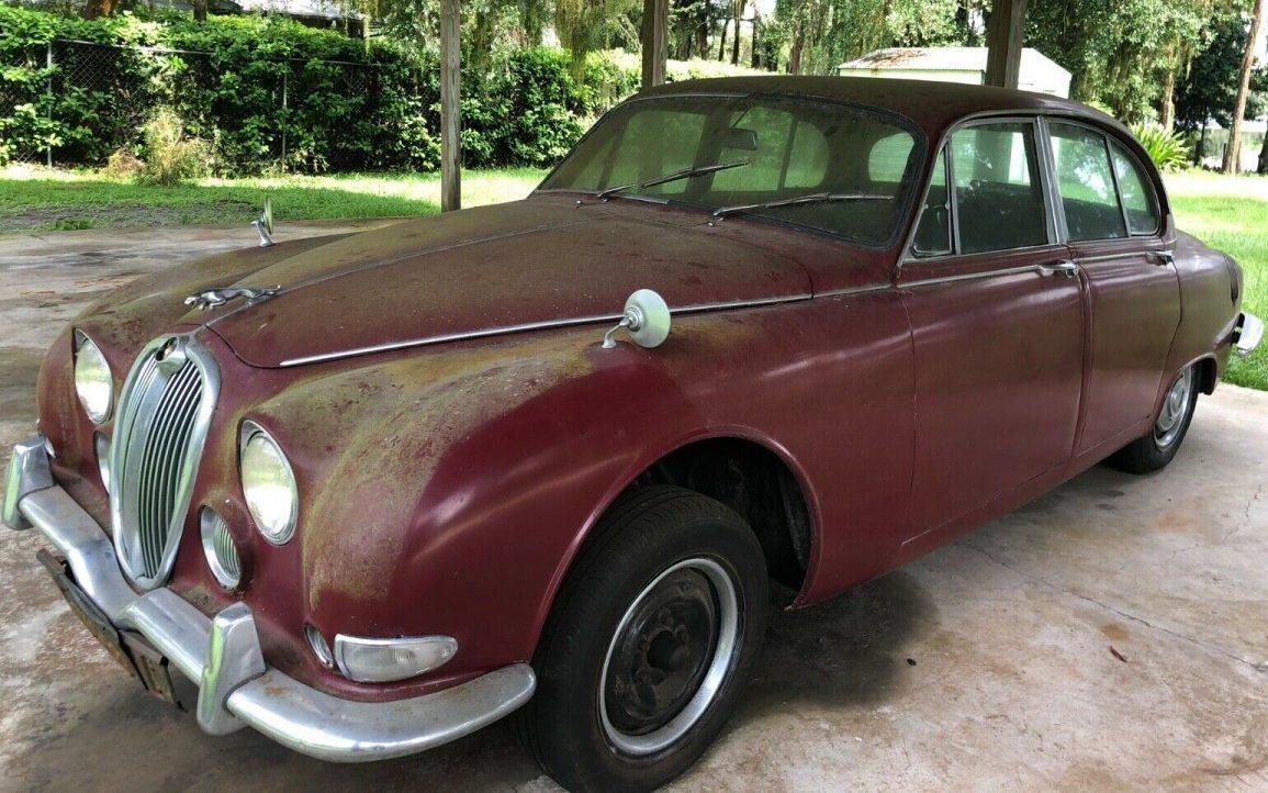 Solid British Luxury: 1965 Jaguar 3.8 S-Type - Barn Finds