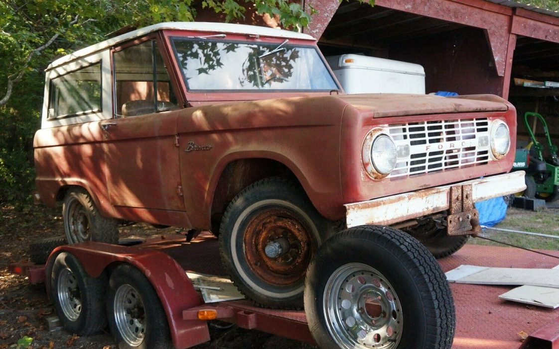 Original Barn Find: 1966 Ford Bronco 4x4
