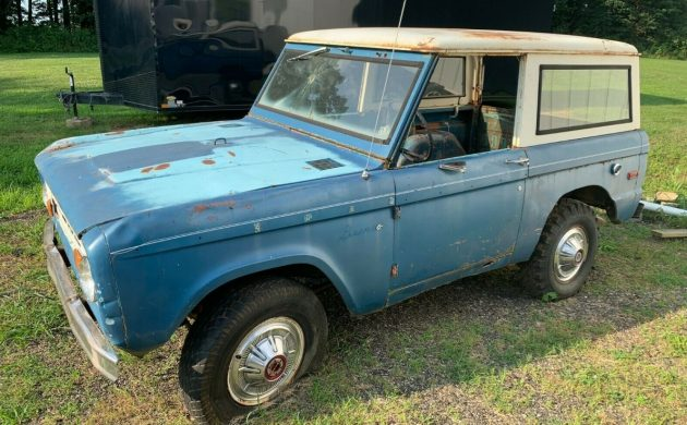 Ford Bronco Restoration >> Perfect Restoration Project 1968 Ford Bronco
