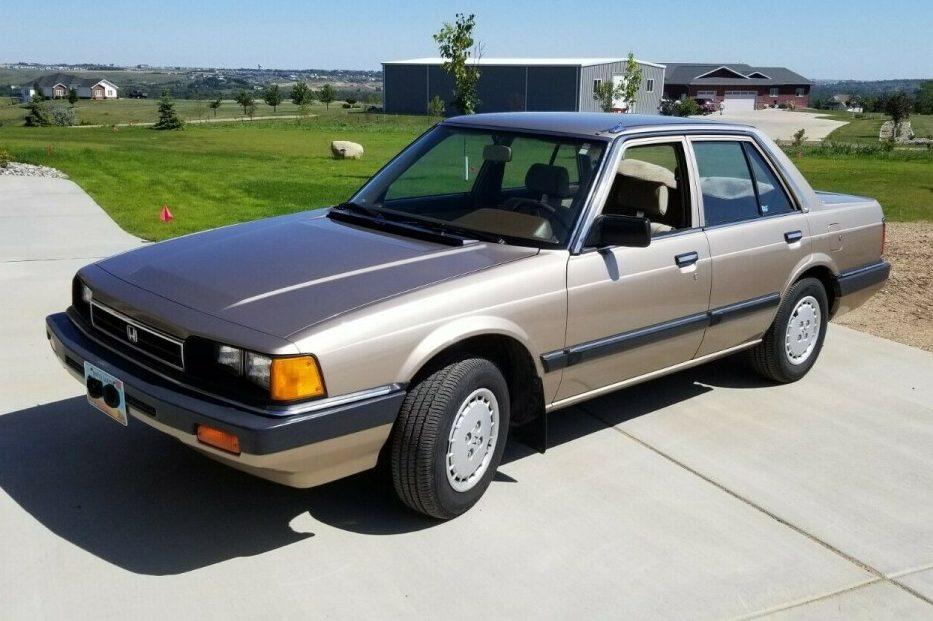 Future Classic: 1985 Honda Accord