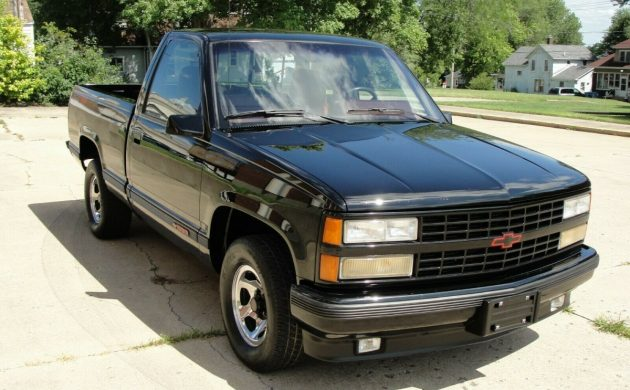 Potent Pickup: 1990 Chevrolet C1500 454 SS Pickup