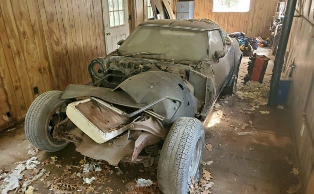 Abandoned in Shop: 1969 Chevy Corvette