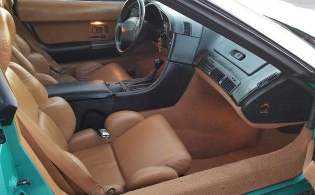 Turquoise Metallic Survivor: 1991 Chevy Corvette