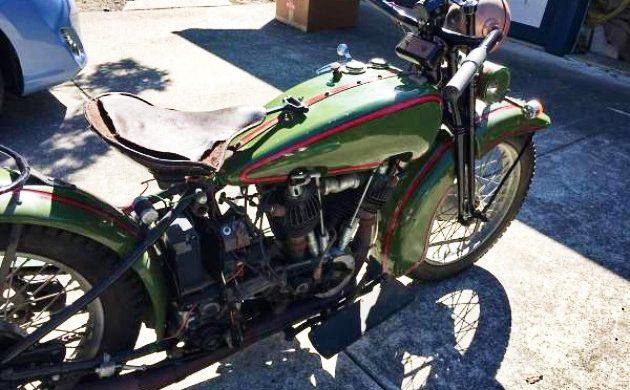 READER AD: 1925 Harley-Davidson Model J
