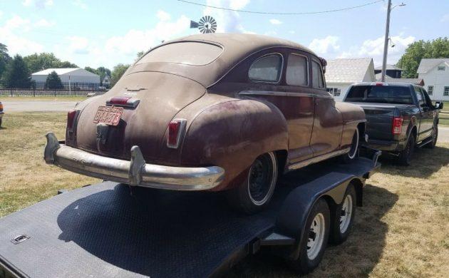 Behind Closed Doors 1949 Desoto Sedan
