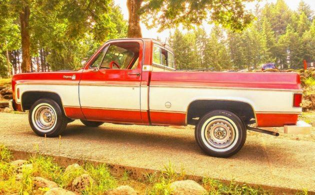 One Owner Survivor! 1977 Chevrolet C10 Short Box