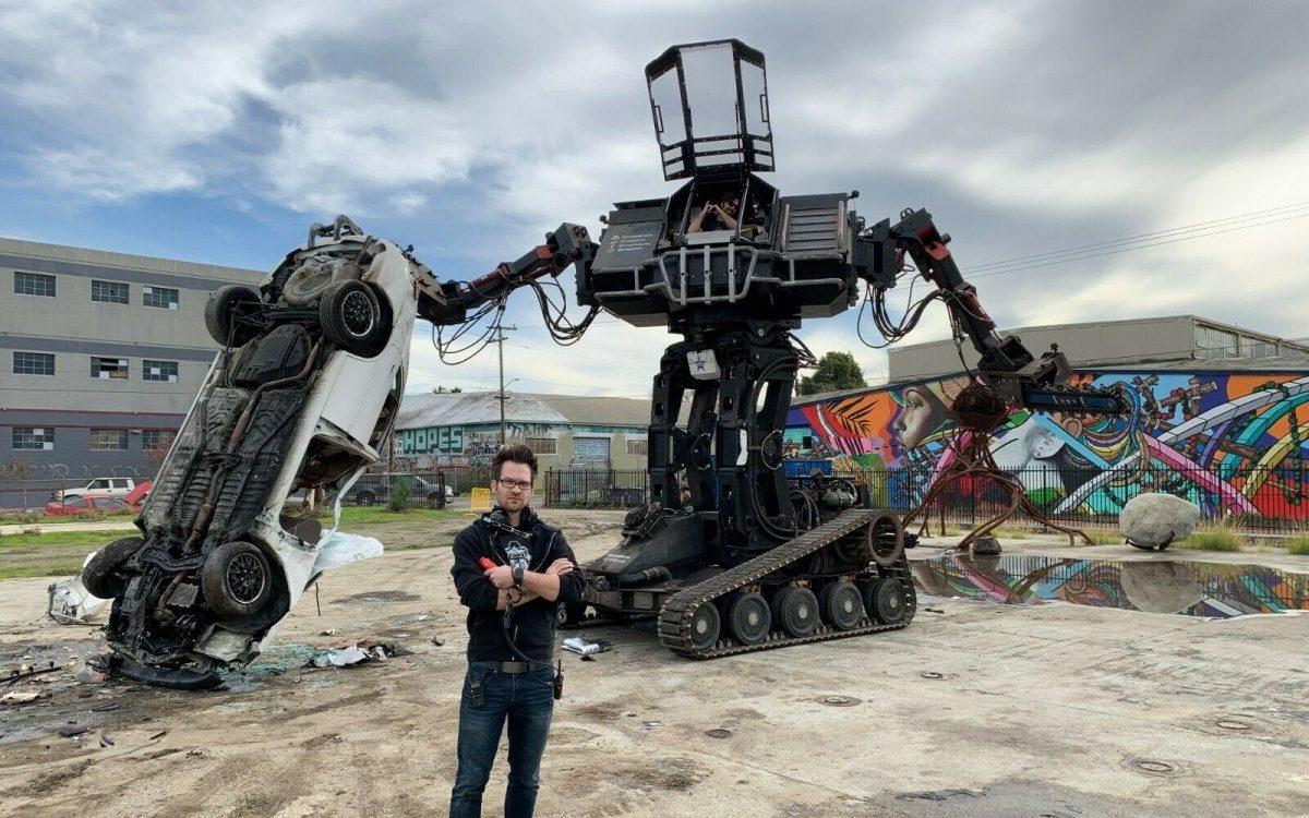 Cost Of Shipping Car >> 15 Ton Giant LS3-Powered Car-Smashing Robot!