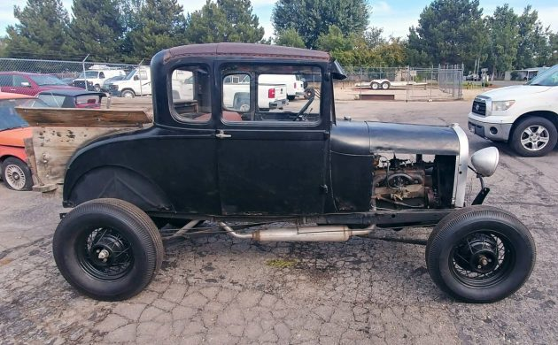 Exclusive 1928 Ford Model A Hot Rod