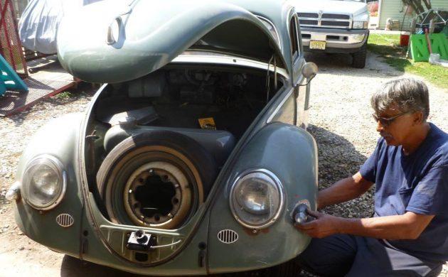 Survivor Oval 1957 Volkswagen Beetle