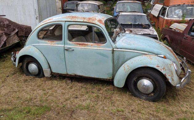 VW Shop Sell-Off: 1963 VW Beetle