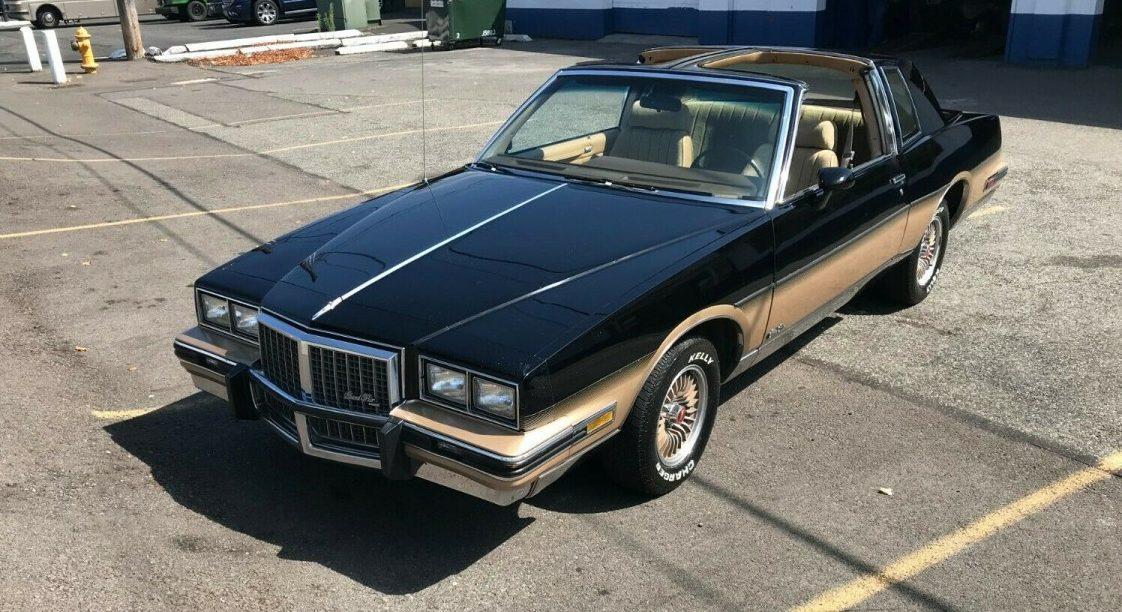Rare T Top Option 1985 Pontiac Grand Prix