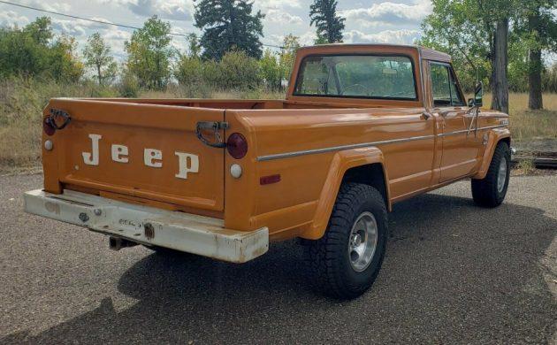 1972 Jeep SJ4000 Gladiator