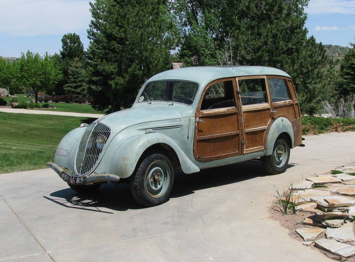 Two In The Country: 1948 Peugeot 202 Woodie Wagon