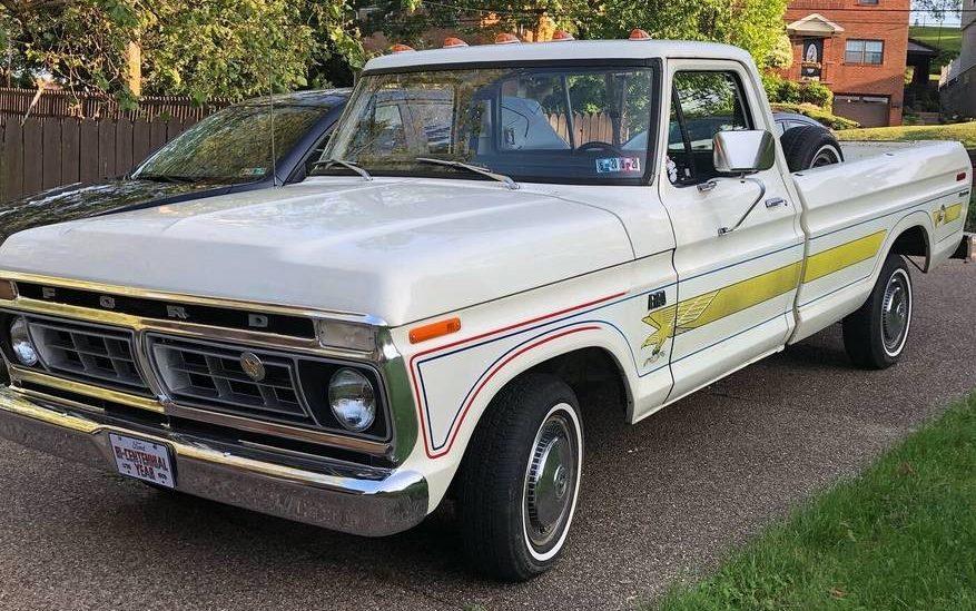 Rad Bicentennial Edition: 1976 Ford F150