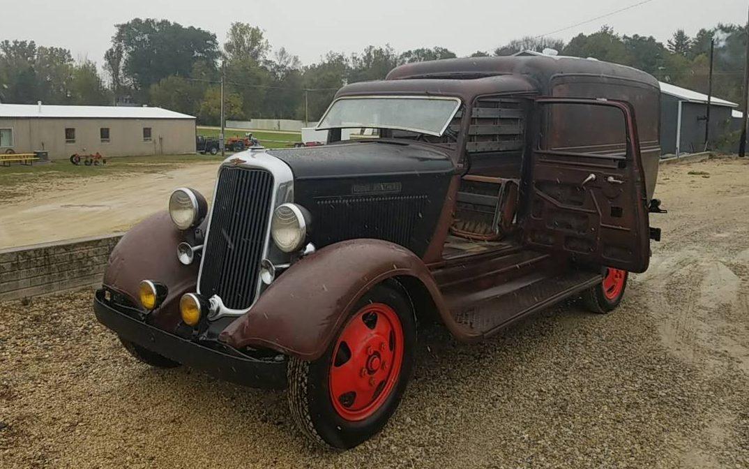 Rare 1934 Dodge Brothers Sedan Delivery