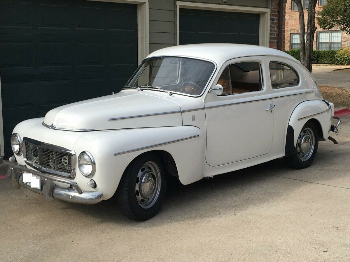 Justified Cult Following: 1968 Volvo PV544 Sport
