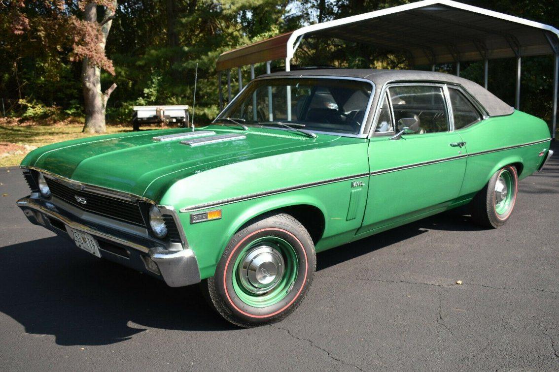 Upgraded 1965 Chevrolet Nova SS Hides a V8 Surprise Under