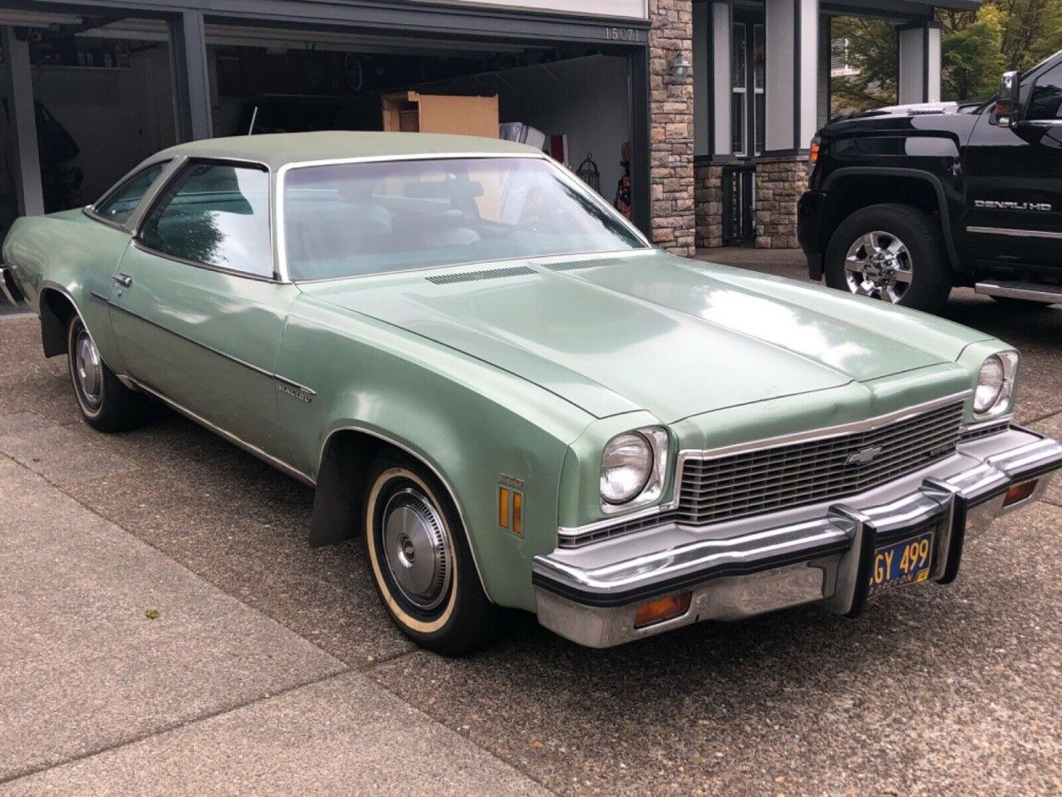 One Owner 1973 Chevrolet Chevelle Malibu Barn Finds