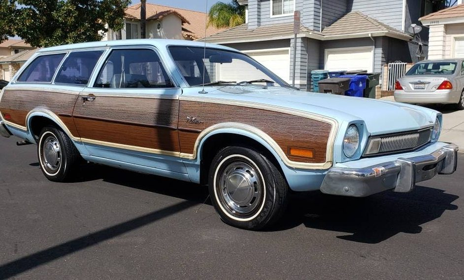 One Owner: 1974 Ford Pinto Station Wagon