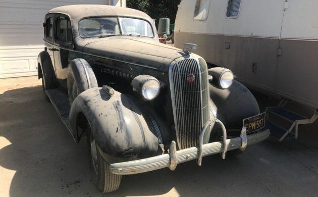1936 Buick Century Sedan