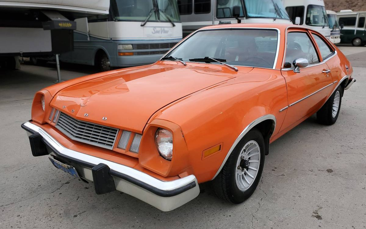 Lots Of Orange: One-Owner 1978 Ford Pinto - Barn Finds