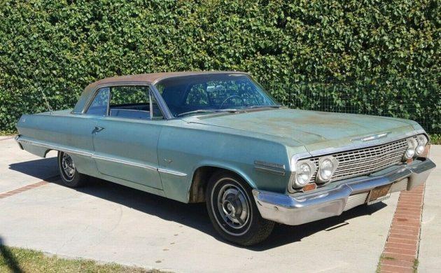 1963 Chevrolet IMPALA license plate tag 63 Chevy super sport 327 ss 283