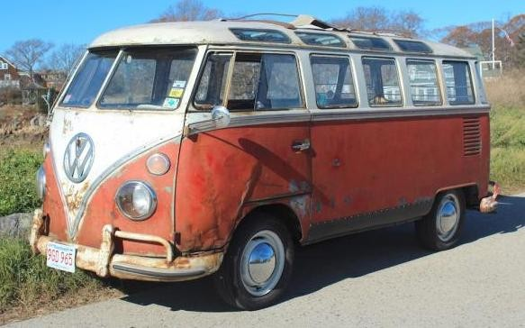 "1963 Volkswagen ""23 Window"" Bus Project!"