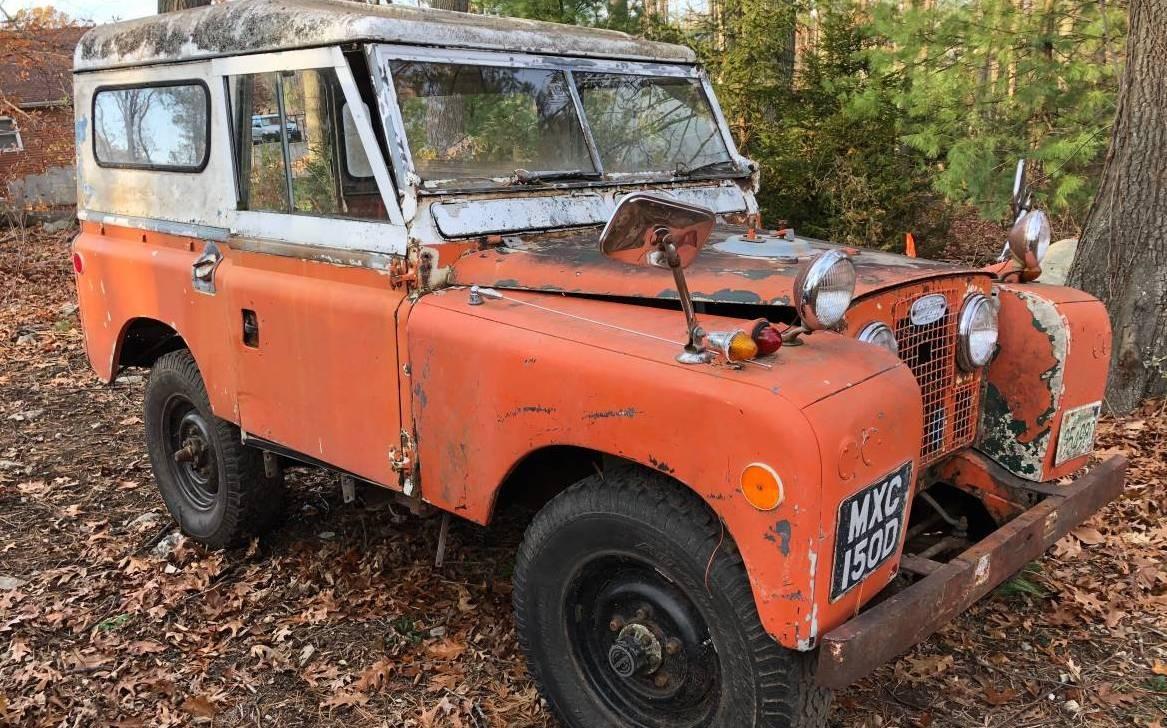 Searle Safari Conversion  1966 Land Rover Series Iia 88