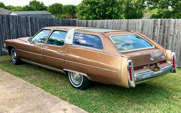 1 Of 50? 1976 Cadillac Castilian Estate Wagon
