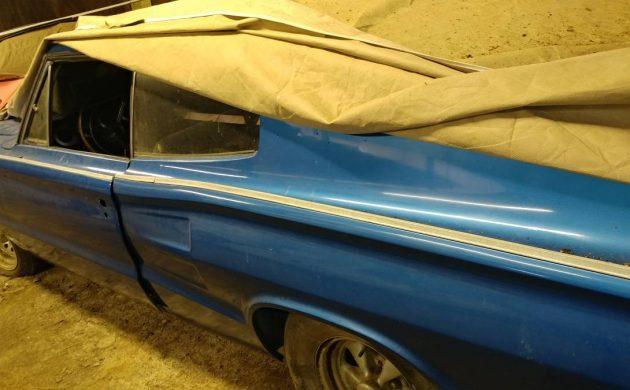 1967 Dodge Charger blue