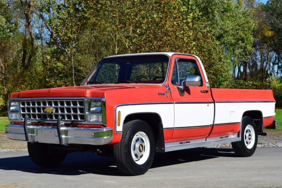 80k Original Miles  1980 Chevrolet C