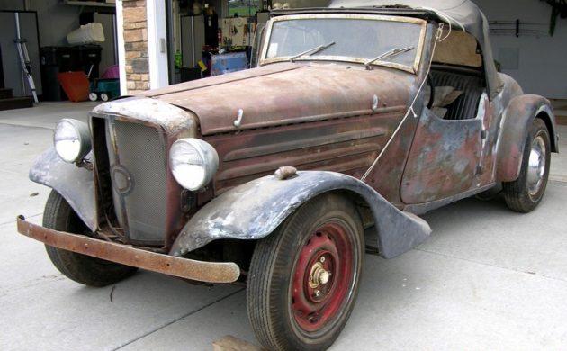 1948 Simca Cabriolet Custom