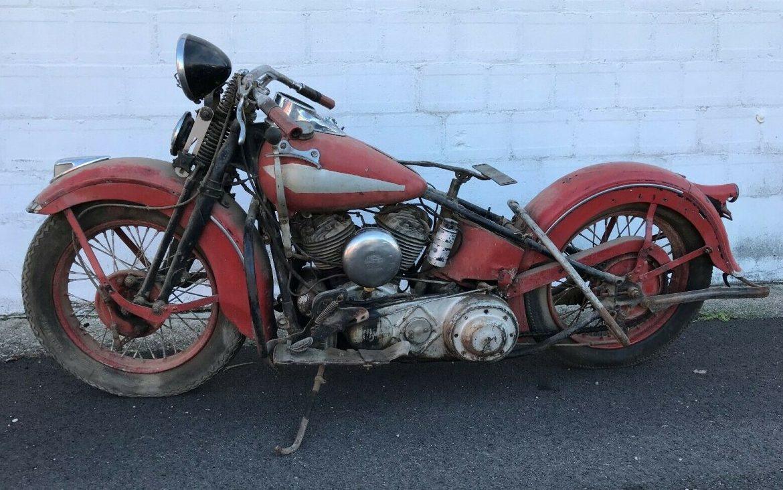 50 Year Barn Sleep: 1937 Harley Davidson UL