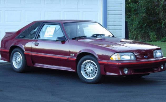 1 194 Miles 1987 Ford Mustang Gt