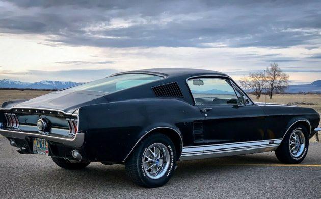 1967 Ford Mustang Raven Black