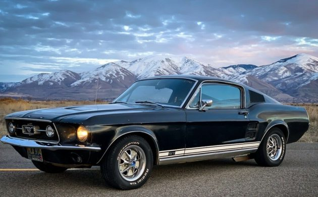 1967 Ford Mustang Raven Black
