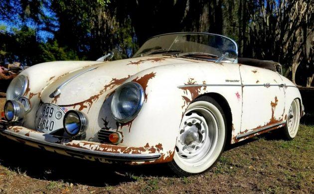 Fake Rust 1957 Porsche 356 Speedster Replica