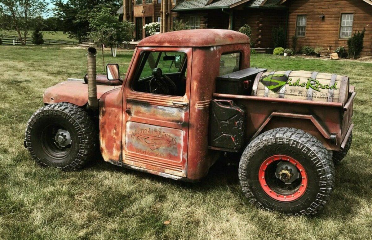 Rat-Rod Custom: 1948 Willys Jeep Pickup