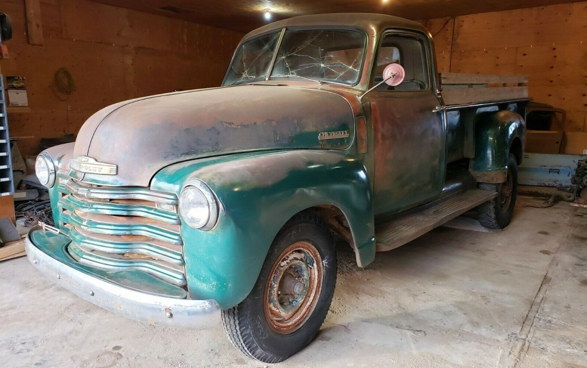Perfect Patina? 1950 Chevrolet Advance Design Pickup
