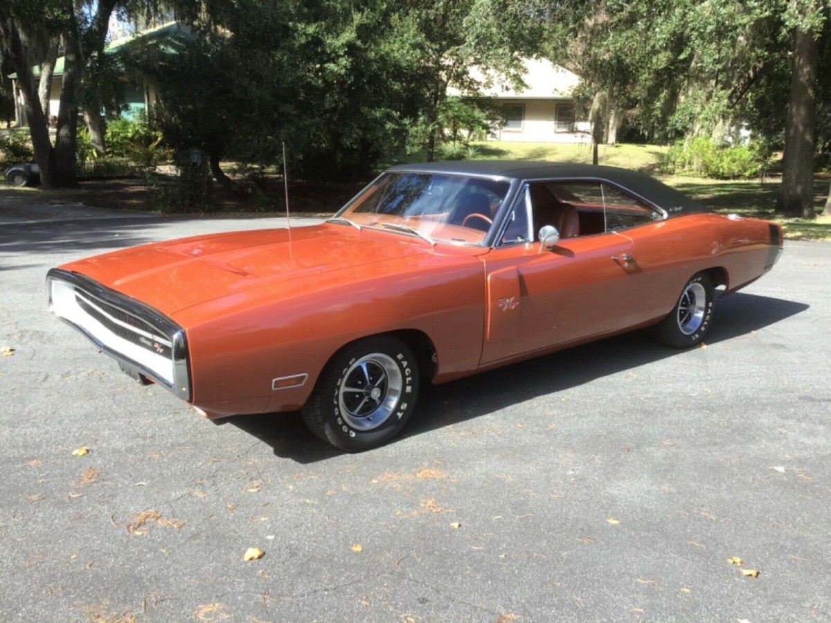 charger dodge 1970 440 rt sheet broadcast matching numbers auto florida