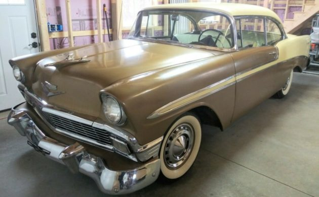 Stored For 30 Years: 1956 Chevrolet Bel Air