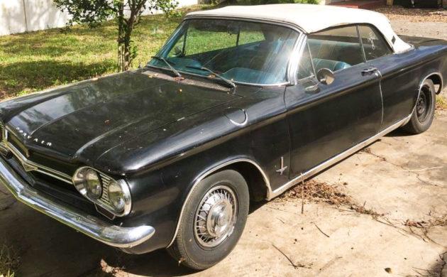 1964 CHEVROLET CORVAIR MONZA CONVERTIBLE CAR Vintage Look REPLICA METAL SIGN