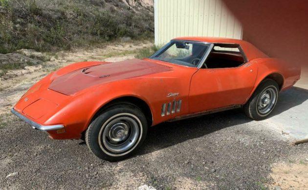 1969 Chevrolet Corvette red