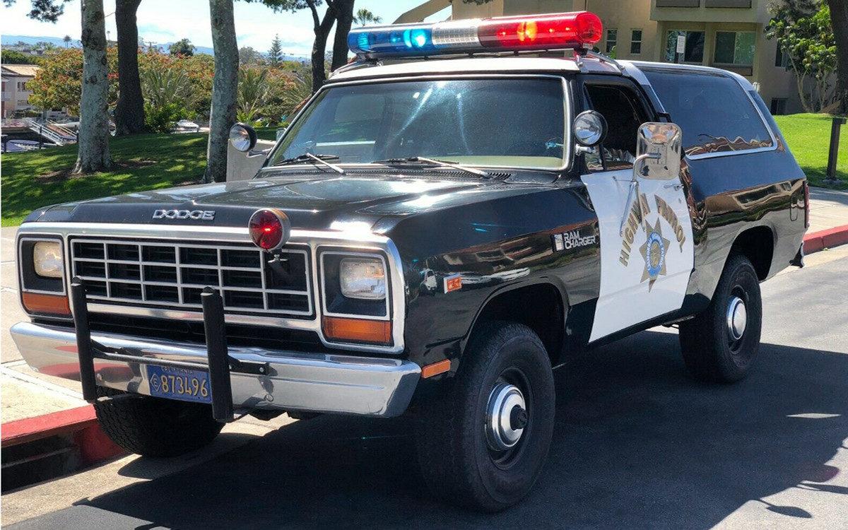 Highway Patrol 1982 Dodge Ramcharger Chp