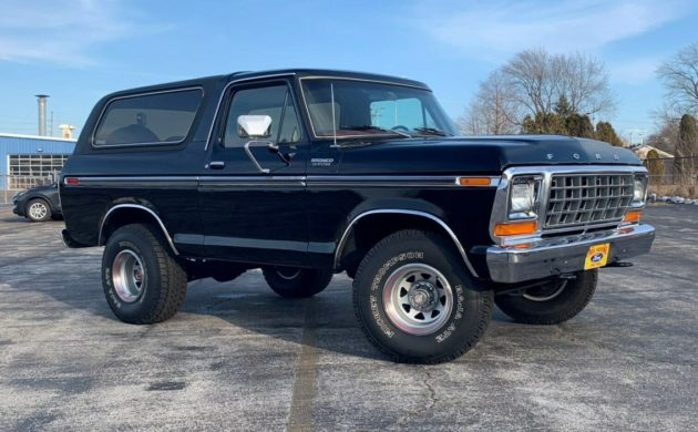 Beautiful Condition: 1979 Ford Bronco Custom