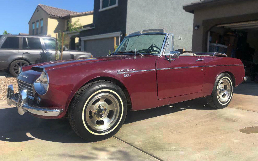One Owner 1967 Datsun 1600 Roadster