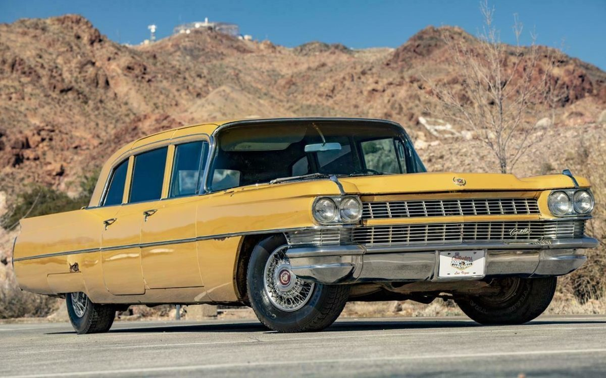 rare classic 1964 cadillac fleetwood series 75 limo