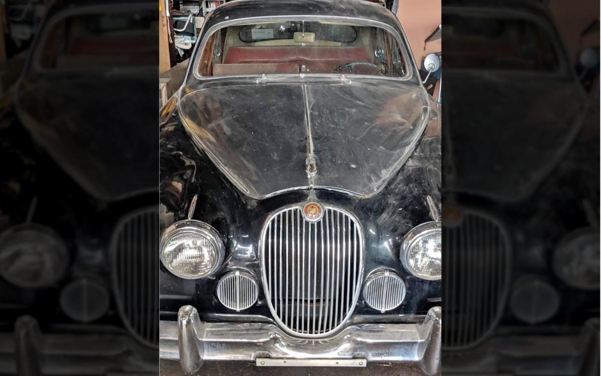 Rare 1959 Jaguar Mark I With 3.4-Liter Power!