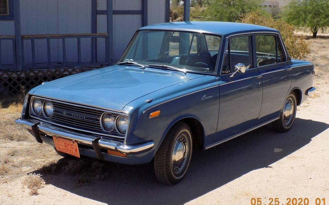 27k Original Miles: 1968 Toyota Corona